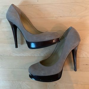 Levity suede stiletto heels